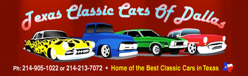 Texas Classic Cars Of Dallas