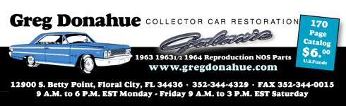 Ford Galaxie Restoration Parts by Greg Donahue Collector Car490