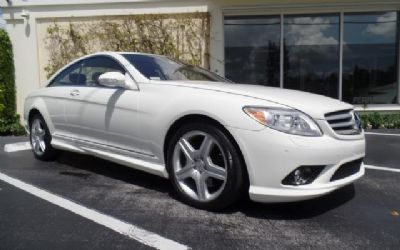 2009 Mercedes CL550 4-Matic