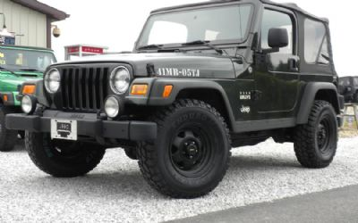 "2005 Jeep ""willys Edition"""