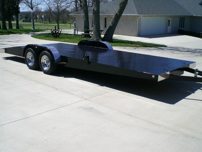 23FT CAR AND CART TRAILER Thumbnail 1
