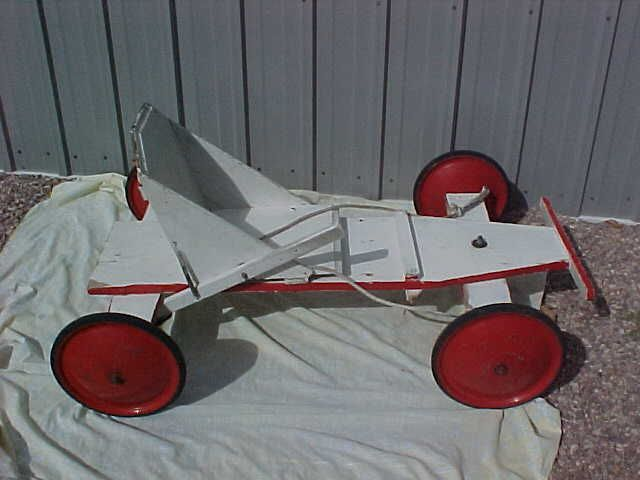 1955 Vintage Soap Box Derby With Real Derby Wheels Soap Box Derby