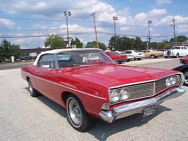 1968 FORD GALAXY 500