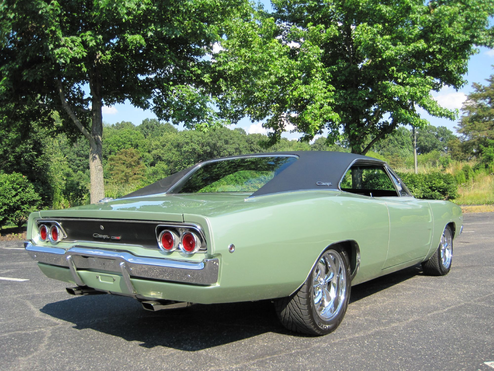 Auto Rotisserie For Sale Canada: 1968 Dodge Charger Rotisserie Resto !! Spectacular Show