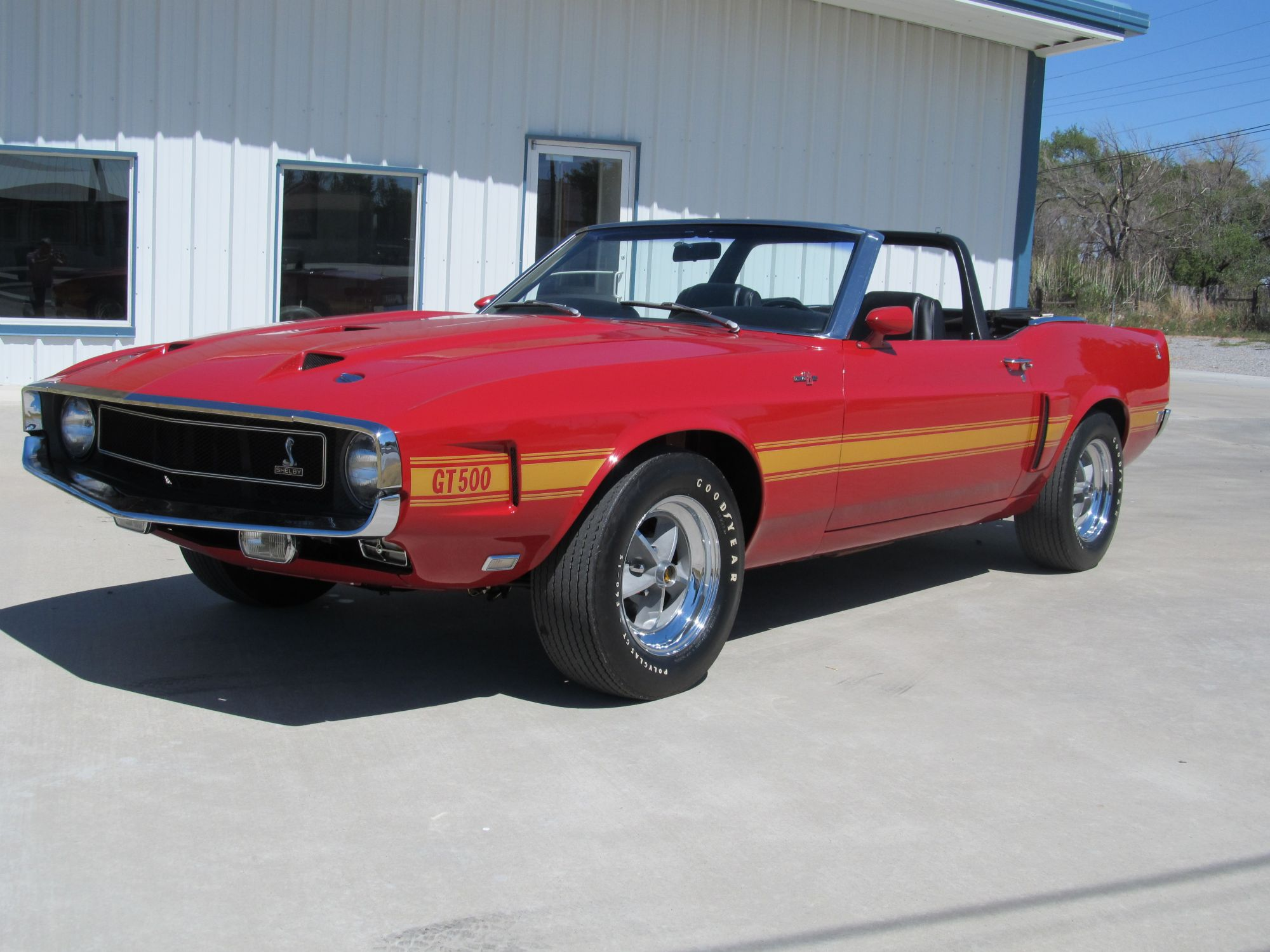 1969 ford mustang shelby gt500 convertible for sale. Black Bedroom Furniture Sets. Home Design Ideas