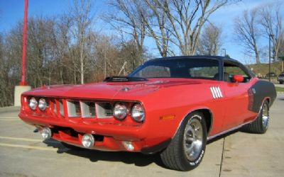 1971 Plymouth 'cuda 440 Six-Pack Four Speed, Shaker Hood, Rallye Dash, Loaded !! Restored $148,900