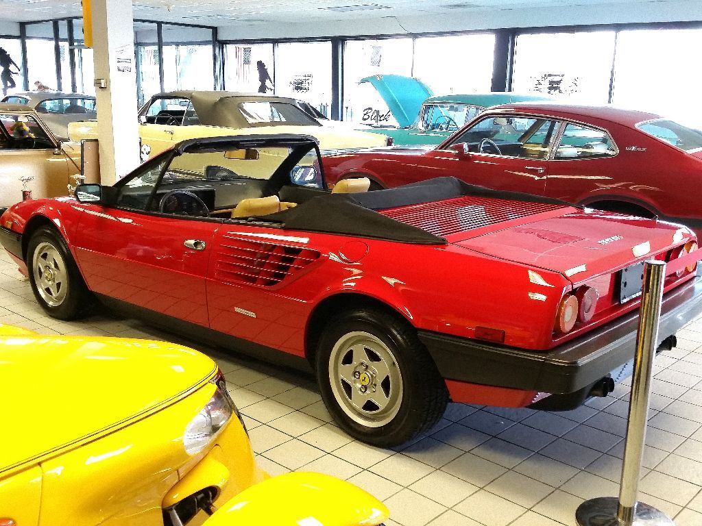 1984 ferrari mondial convertible sorry just sold for. Black Bedroom Furniture Sets. Home Design Ideas