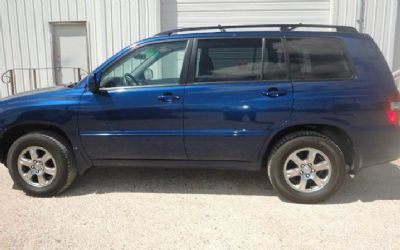 2006 Toyota Highlander Limited AWD 4DR SUV W/3RD ROW
