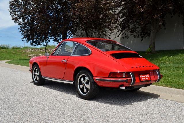 1969 PORSCHE 911 E COUPE 6