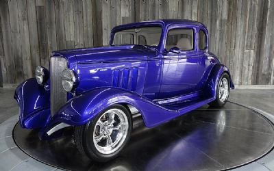 1933 Chevrolet 5 Window Steel Hot Rod
