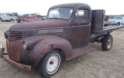 1941 1946 chev truck for sale. Black Bedroom Furniture Sets. Home Design Ideas