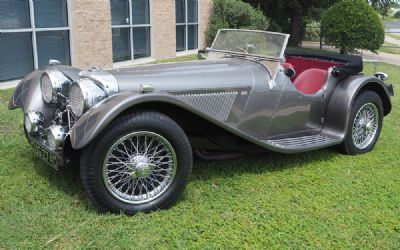1965 Jaguar SS100 Suffolk Sportscars Reproduction