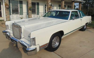 1979 Lincoln Town Coupe Loaded