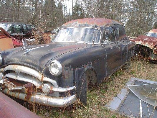 1953 Packard Flower Car Hearse