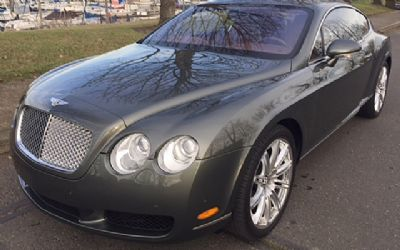2006 Bentley Continental GT 2 DR. AWD Coupe
