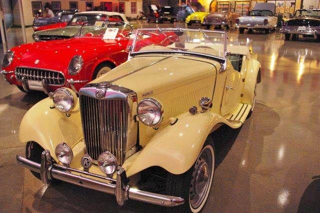 1953 MG TD Mark-II