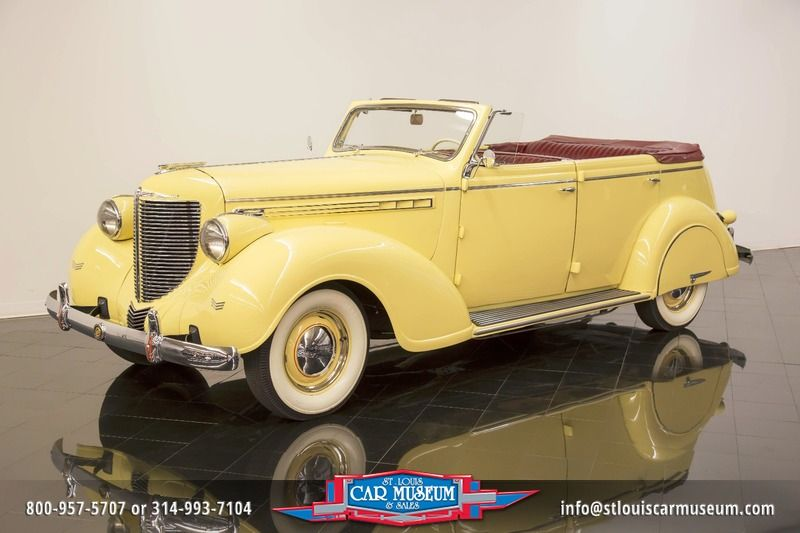 1938 chrysler imperial eight convertible sedan for sale all rh allcollectorcars com 1938 Chevy Sedan 1938 Chevy Sedan