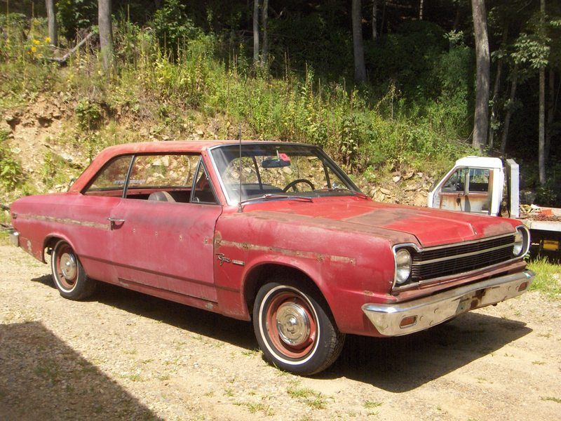 1969 AMC RAMBLER ROGUE REDUCED Year 1969 Mileage Make AMC Exterior Color red Model RAMBLER ROGUE In