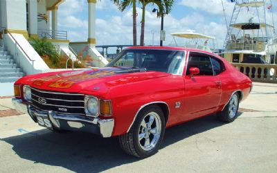1972 Chevrolet Chevelle SS 454 Sold