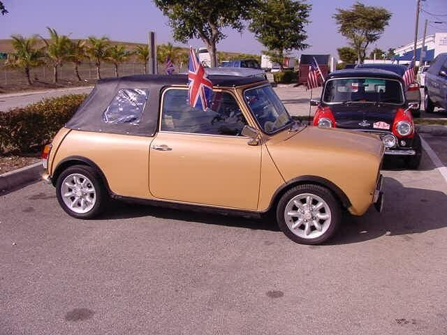 1980 austin mini cooper clubman convertible right hand drive for sale. Black Bedroom Furniture Sets. Home Design Ideas