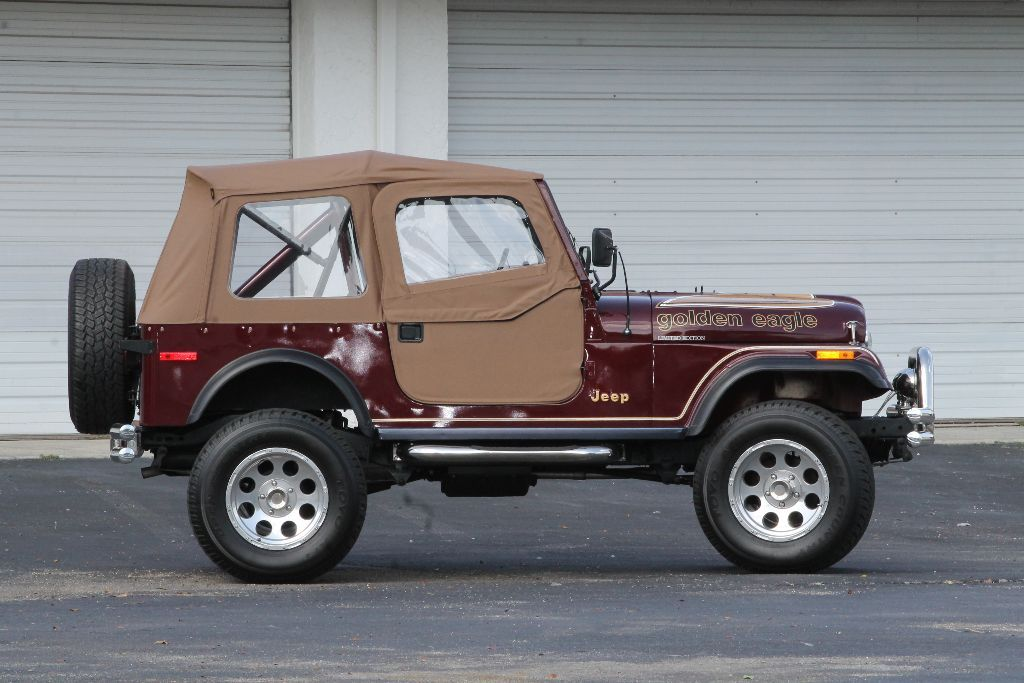 1979 jeep golden eagle sold cj 7 sold for sale. Black Bedroom Furniture Sets. Home Design Ideas