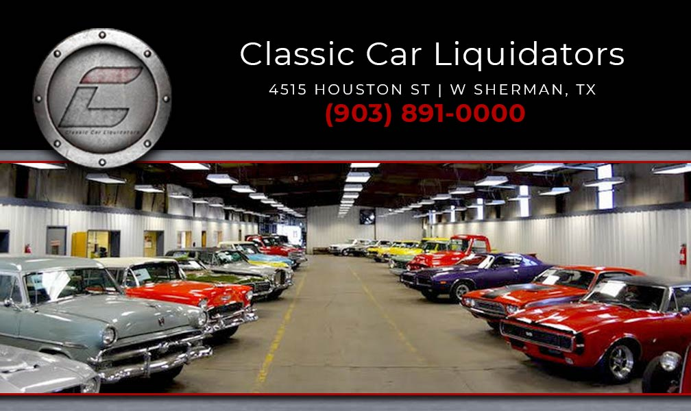 Car Dealerships In Sherman Tx >> Classic Car Liquidators Llc Autabuy Com