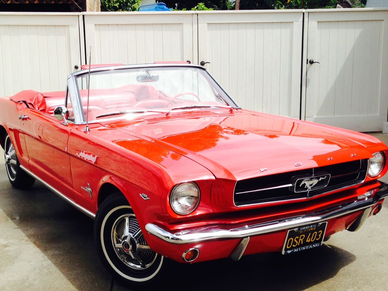 1964 Ford Mustang Convertible 1 2 Sold Through Autabuy Paint Colors