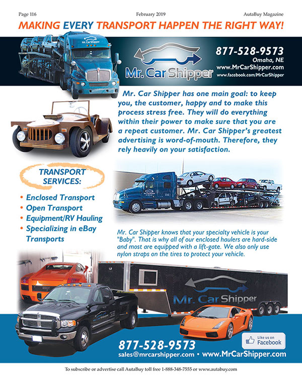 Mr Car Shipper >> Mr Car Shipper Autabuy Com