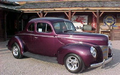 1940 Ford Coupe Rod Deluxe Coupe