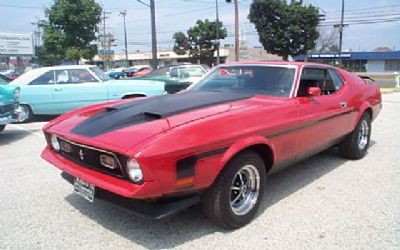 1972 Ford Mustang MACH1 Sorry Just Sold!!!