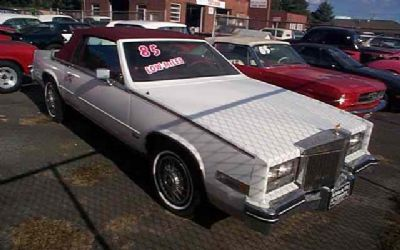1985 Cadillac Sorry Just Sold!!! Eldorado Biarritz Just Arrived!!!