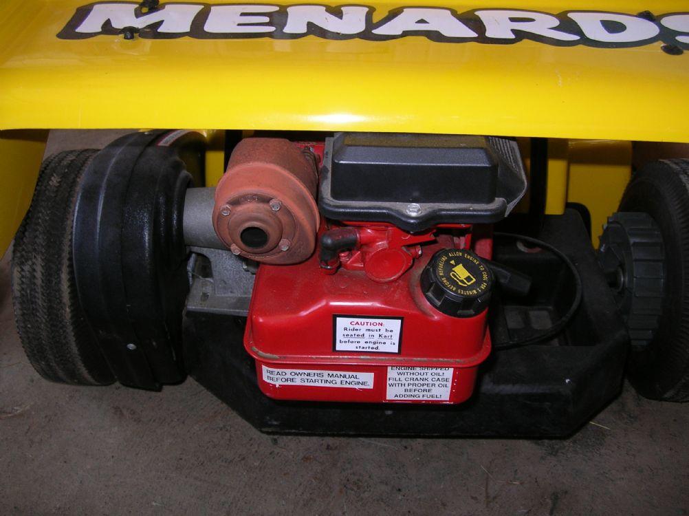 Menards Indy Car GO Kart For Sale | AutaBuy com