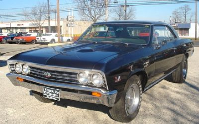 1967 Chevrolet Chevelle Just Sold!!! SS 427 ENG. 4 SPD.