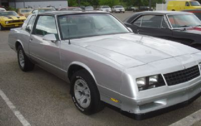 1985-1988 Monte Carlo SS For Sale | AutaBuy com