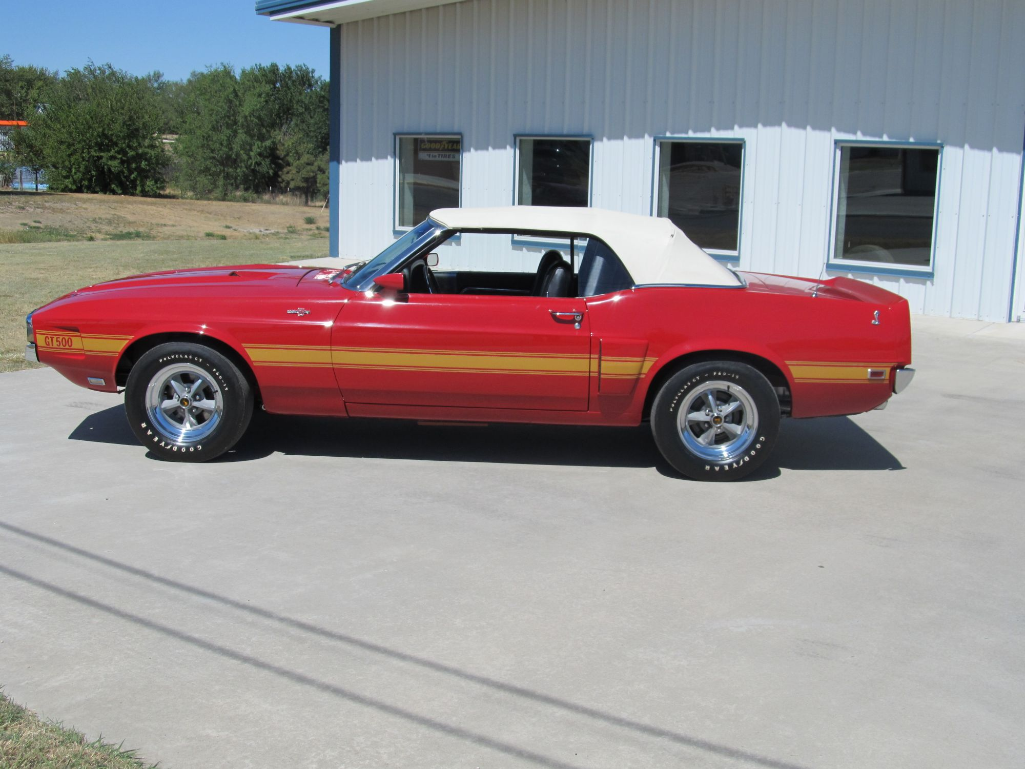 1969 Ford Mustang Shelby Gt500 Convertible For Sale 4 25