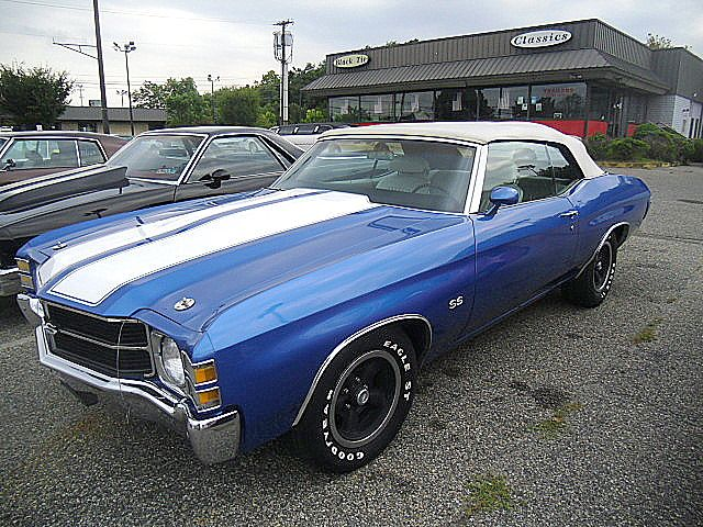 1971 Chevrolet Sorry Just Sold Chevelle SS 350 Engine For Sale