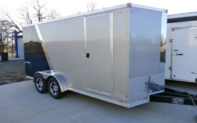 Pace American 7X16 Cycle Hauler