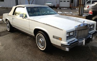1984 Cadillac Eldorado Biarritz Sorry Just Sold!!