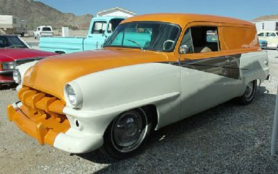 1954 Plymouth Belvedere Suburban 2 DR Sedan Delivery Wagon