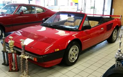 1984 Ferrari Mondial Convertible Sorry Just Sold!!!!