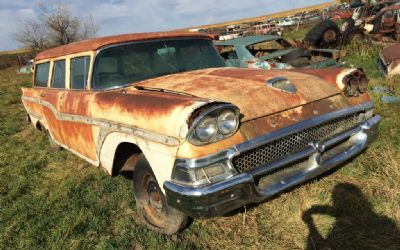 1958 Ford Country Squire Station Wagon Body