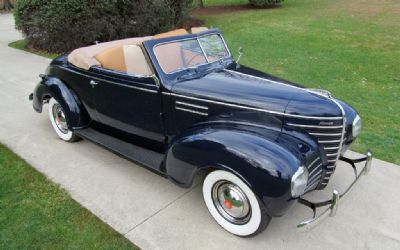 1939 Plymouth Deluxe Convertible