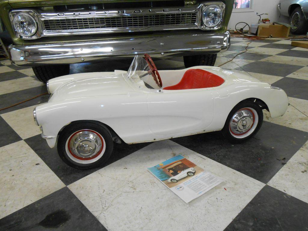 1956 chevrolet corvette eska kiddie corvette