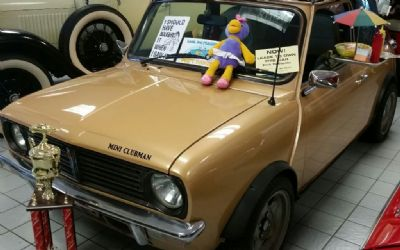 1980 Austin Mini Cooper Clubman Convertible Right Hand Drive
