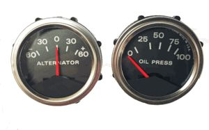 1967 1969-70 Shelby Console Gauges