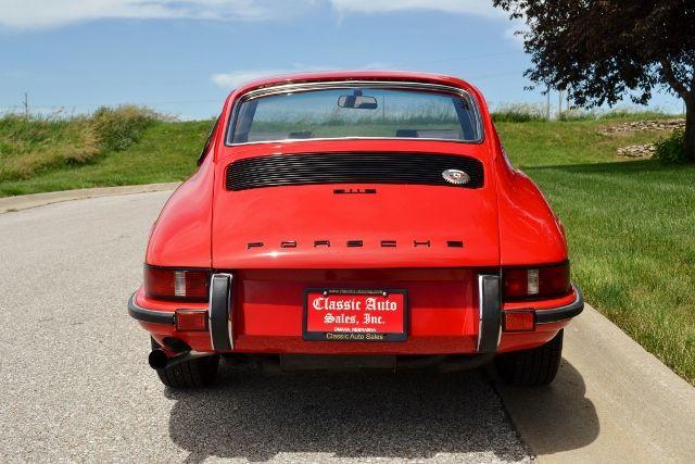 1969 PORSCHE 911 E COUPE 7