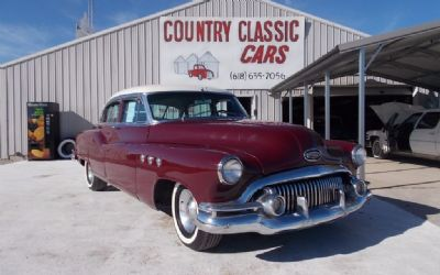 1951 Buick Super 4DR Sedan