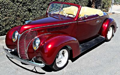 1938 Ford Convertible - Sold!