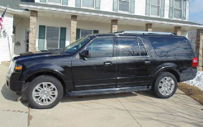 2011 Ford Expedition EL Limited 4X4 SUV