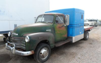 1950 Chevrolet 3500 1 Ton 2 Wheel Drive